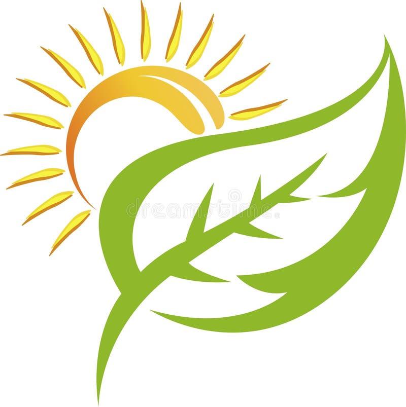 Leaf logo stock illustration
