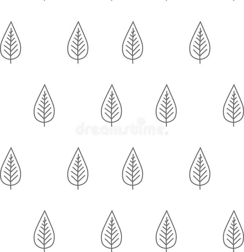 Leaf pattern royalty free stock photos