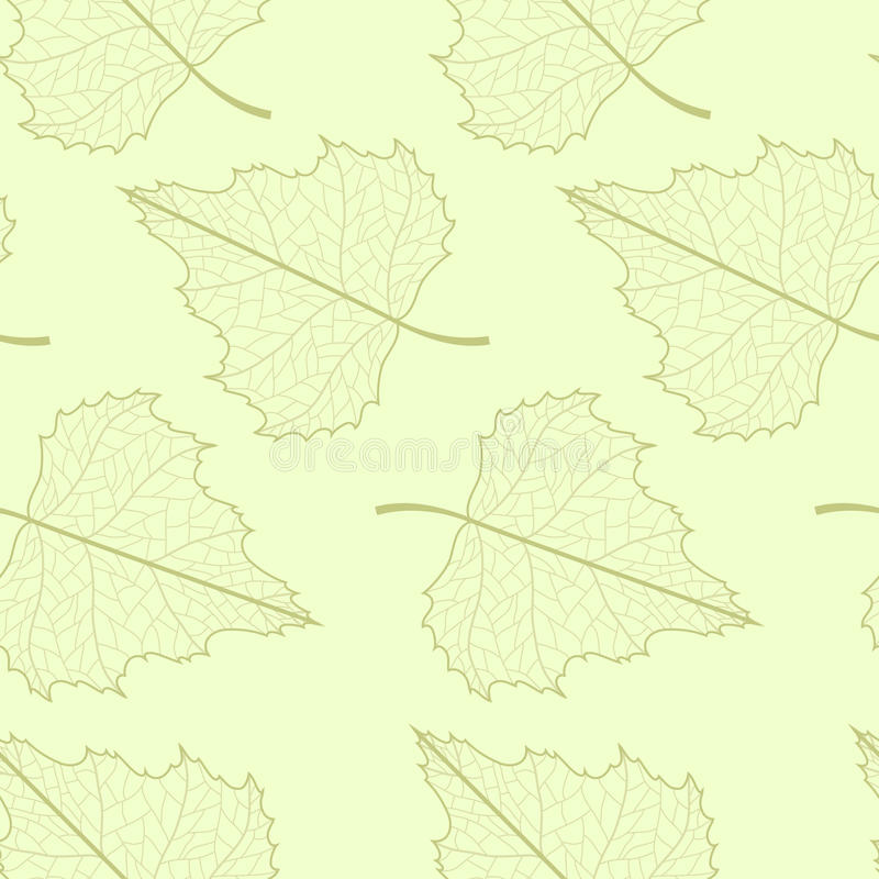 Download Leaf seamless background. stock vector. Image of wallpaper - 19330238