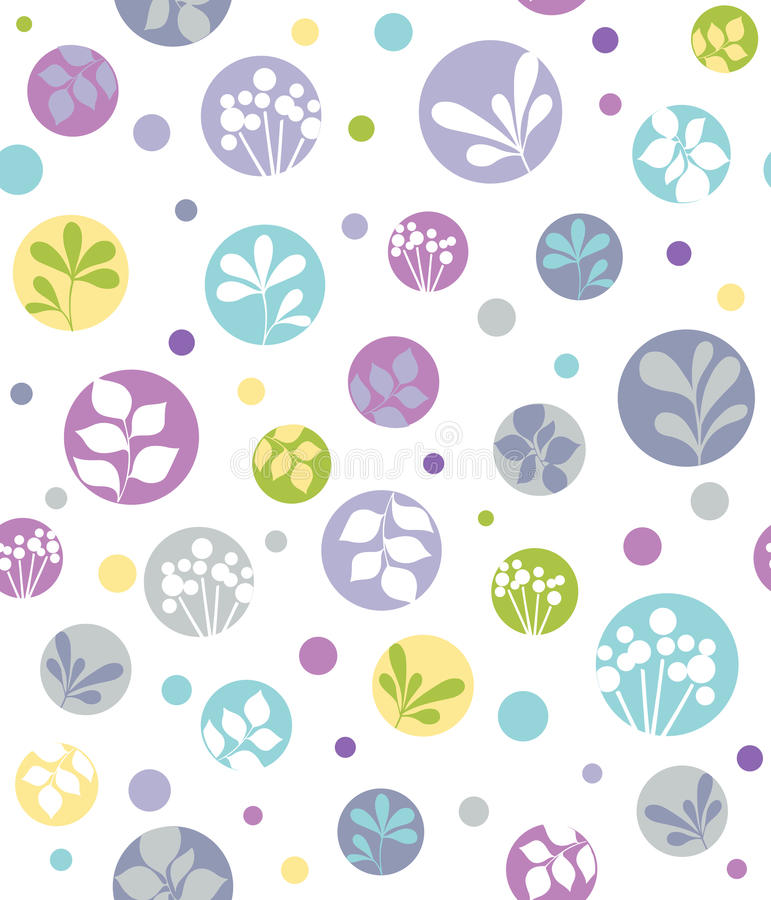 Free Leaf Silhouettes Seamless Repeat Pattern Royalty Free Stock Photos - 13263668