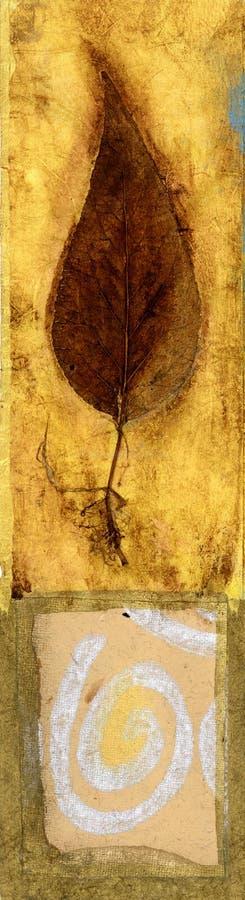 Download Leaf and Swirl stock illustration. Image of leaf, environmental - 495010