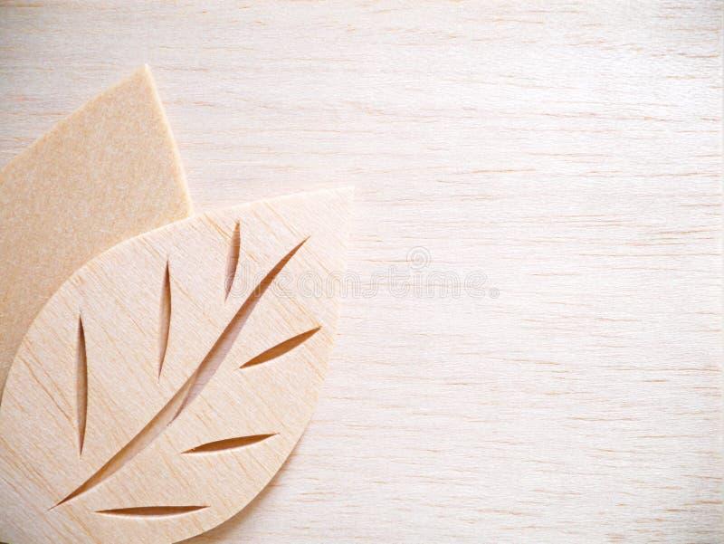 Leaf symbol logo concept, wood cutting design illustration icon. Sign royalty free stock images