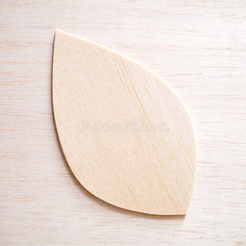 Leaf symbol logo concept, wood cutting design illustration. Icon sign royalty free stock photo