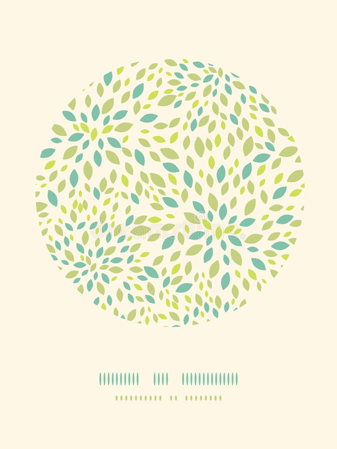Download Leaf Texture Circle Decor Pattern Background Stock Vector - Illustration of drawing, element: 34079903