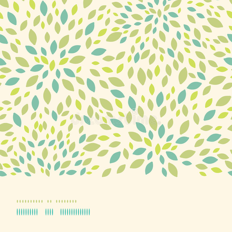 Download Leaf Texture Horizontal Border Seamless Pattern Stock Illustration - Image: 34089077