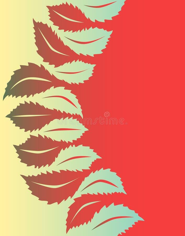 leaf till stock illustrationer