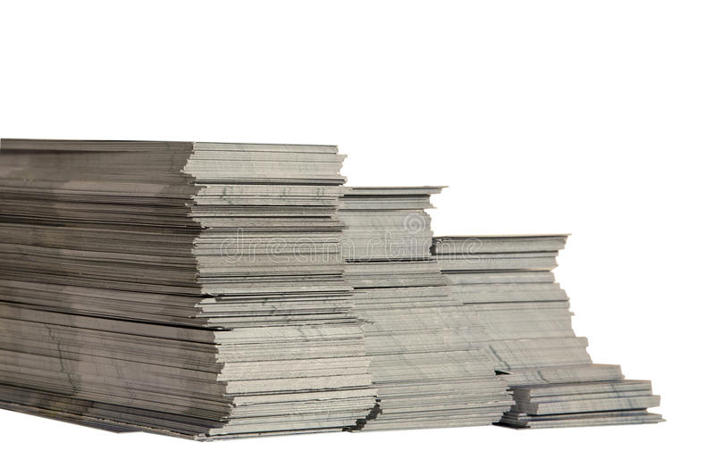 Leaflet Stock Stock Image