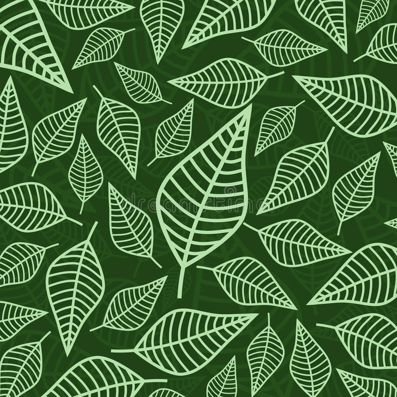leafmodell vektor illustrationer