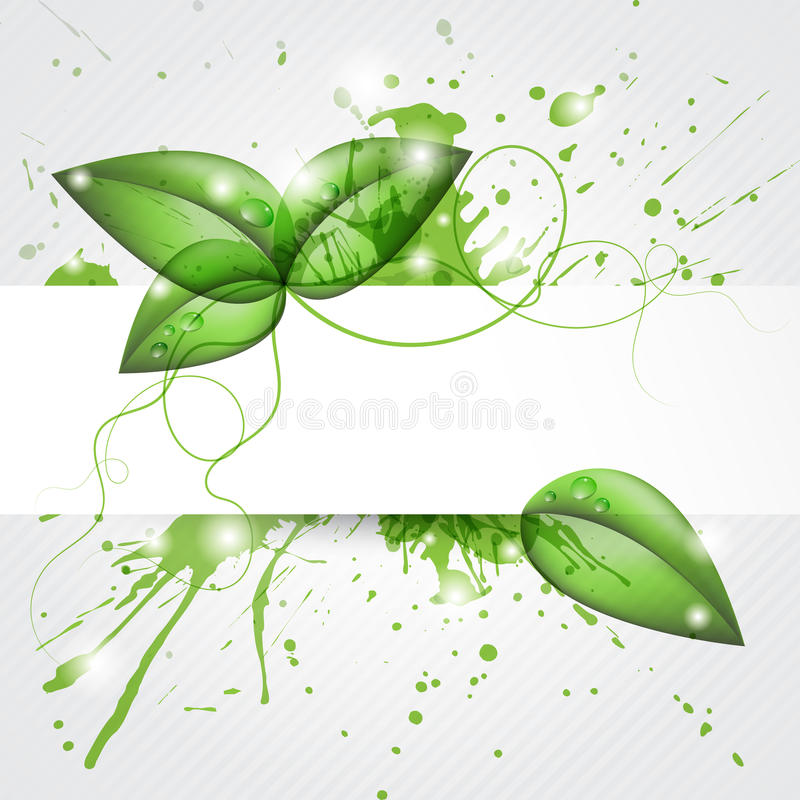 Download Leafs background stock vector. Image of foliage, nature - 20390895