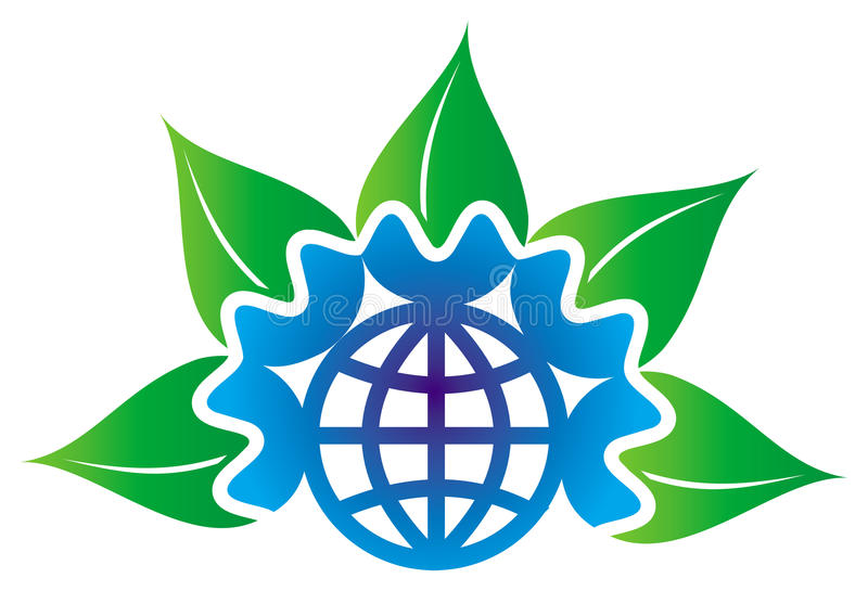 Download Leafs With Globe Royalty Free Stock Photos - Image: 10741988