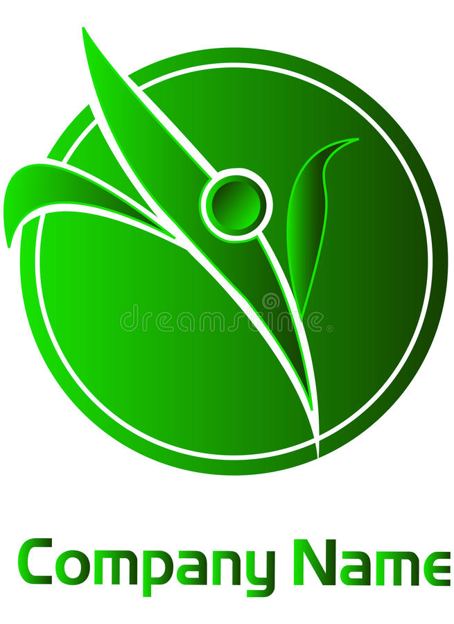 Download Leafs logo stock illustration. Image of environment, curve - 11919415
