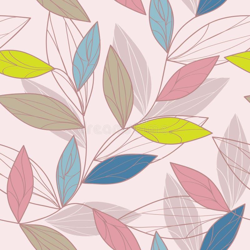 Leafs pattern stock illustration