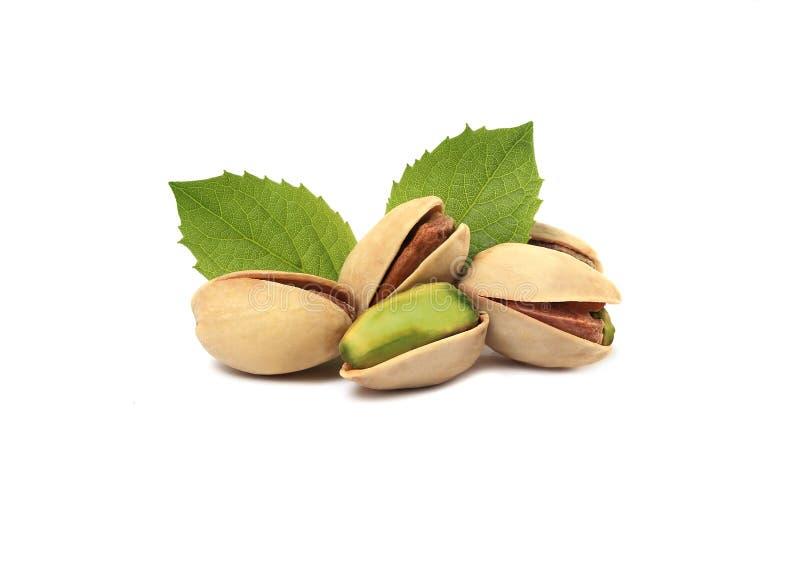 leafs pistacje zdjęcie royalty free