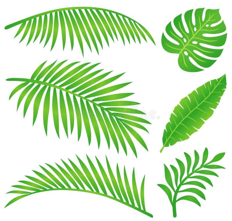 leafsommar royaltyfri illustrationer