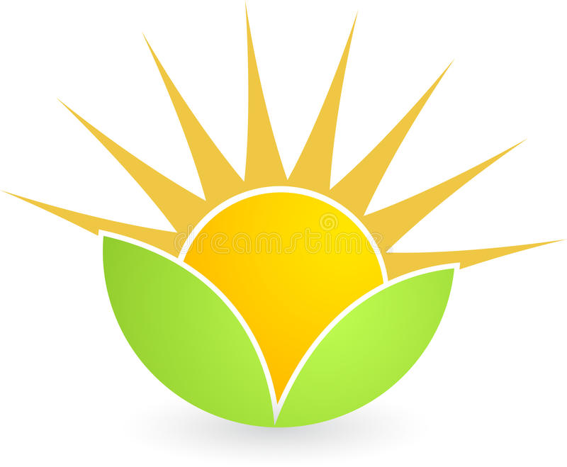 leafsun stock illustrationer