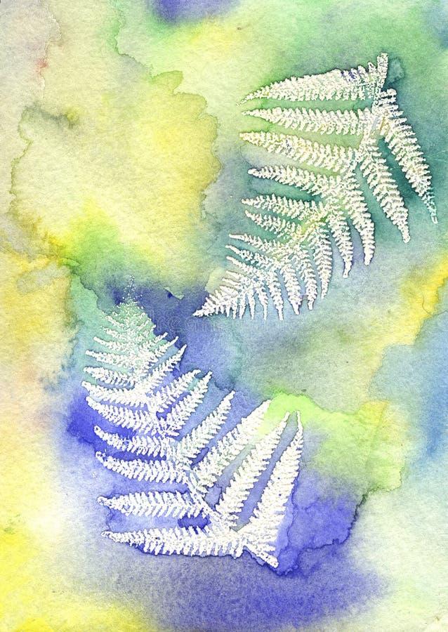 Download Leafvattenfärg stock illustrationer. Illustration av vibrerande - 511788