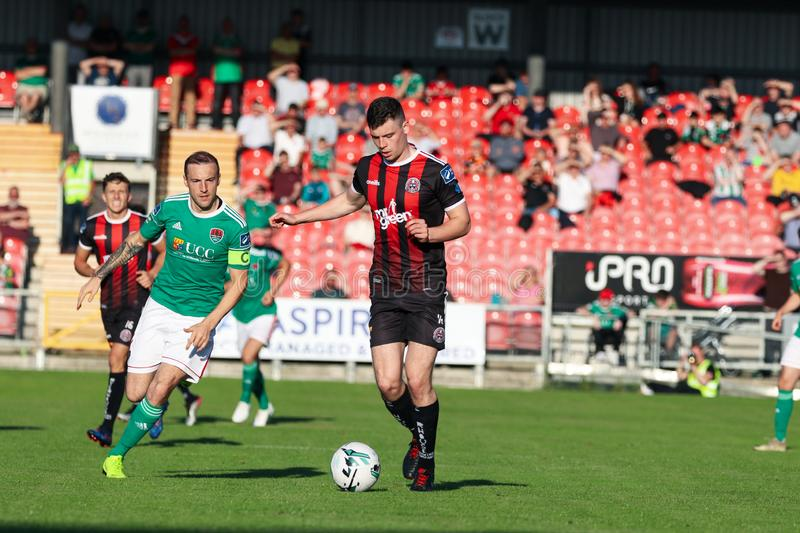 League of Ireland Premier Division match: Cork City FC vs Bohemian FC. July 5th, 2019, Cork, Ireland - League of Ireland Premier Division match: Cork City FC vs royalty free stock photography