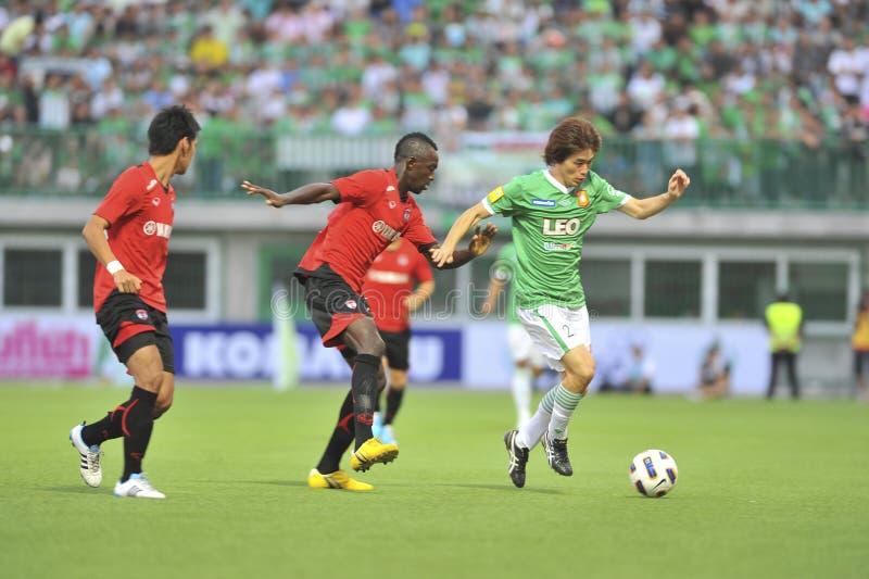 League prima tailandese 2011 fotografia stock libera da diritti