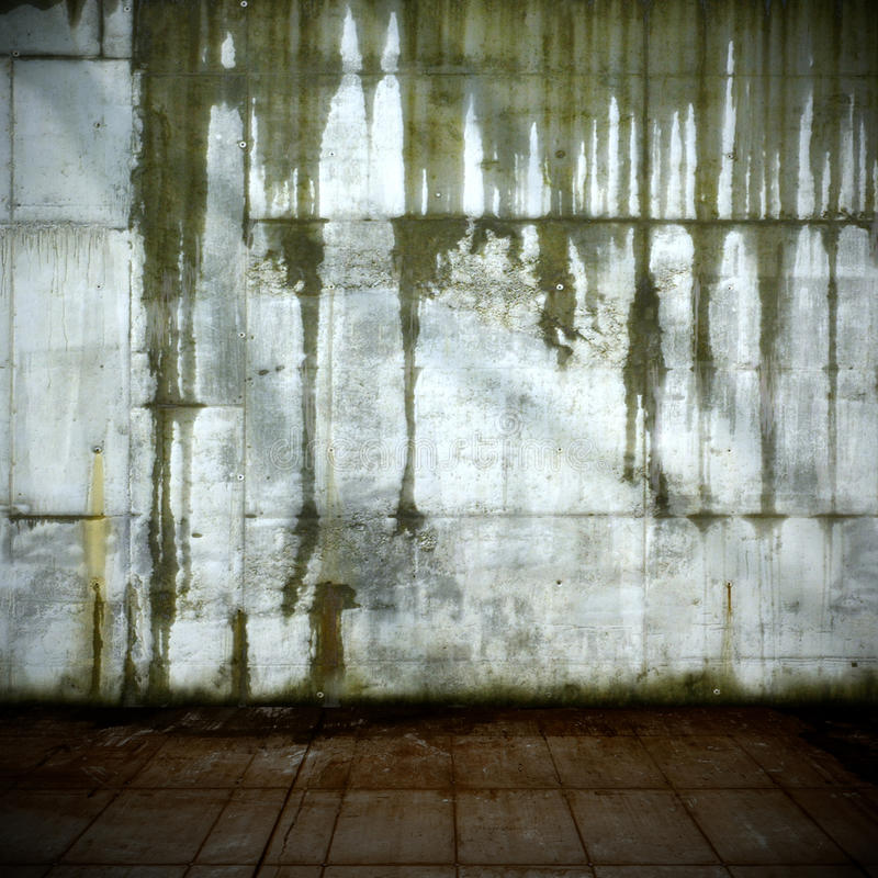 Download Leaking Concrete Wall stock photo. Image of area, dark - 33615970