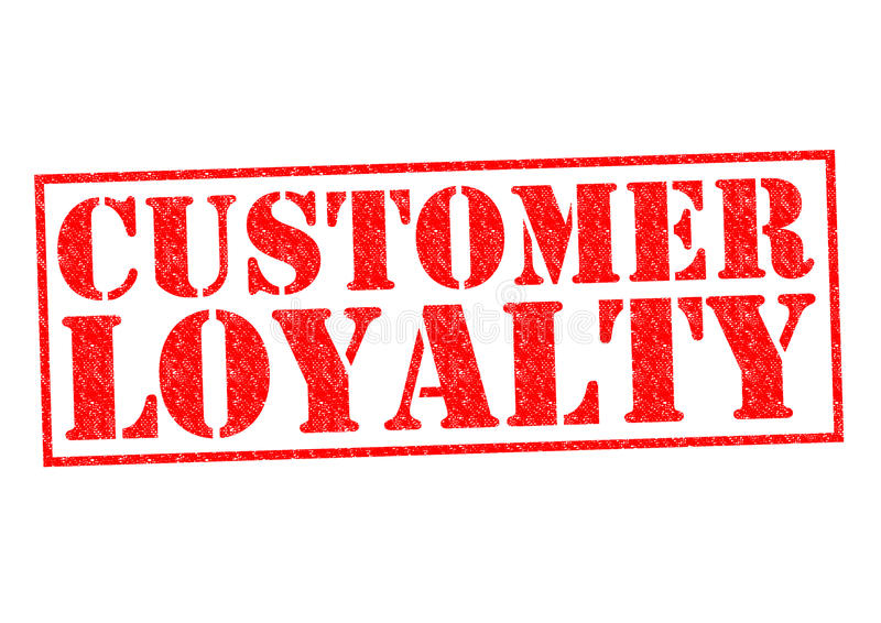 Lealdade do cliente ilustração do vetor