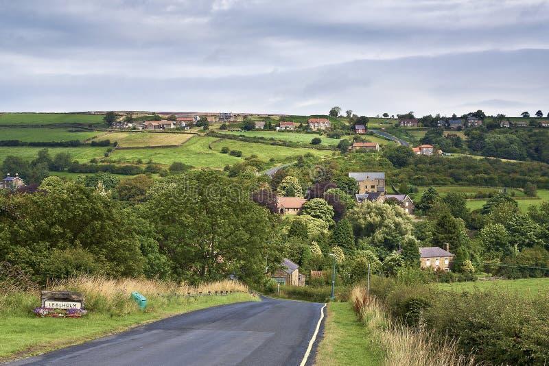 Lealhome North Yorkshire arkivbild