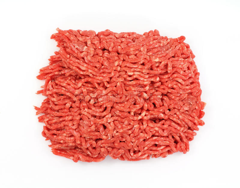 Download Lean Ground Beef Overhead View Stock Image - Image: 19165839