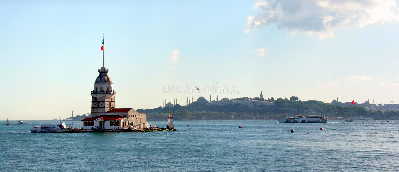 Download Leanders tower. Istanbul stock photo. Image of leander - 6040920