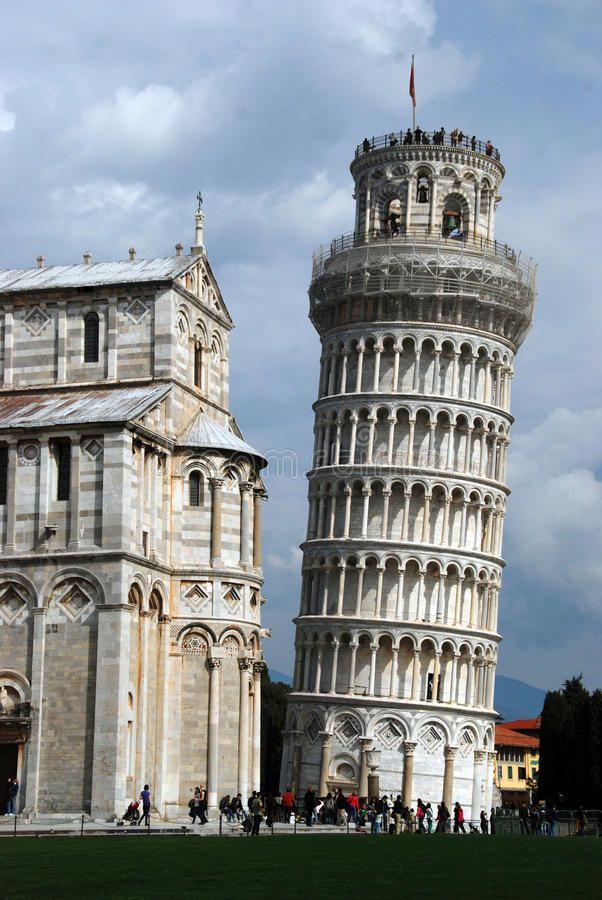 Free Leaning Tower Of Pisa Stock Photos - 21893263
