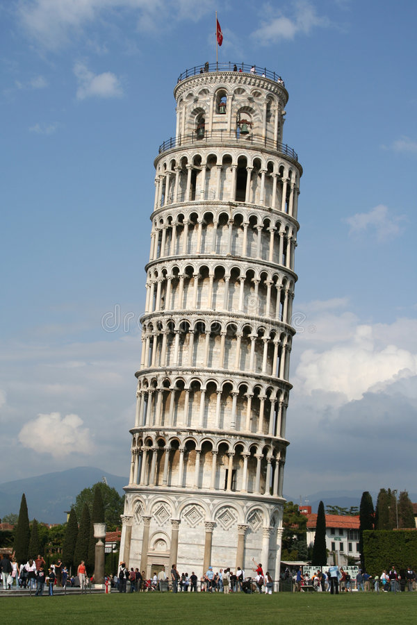 Free Leaning Tower Of Pisa Royalty Free Stock Image - 985746