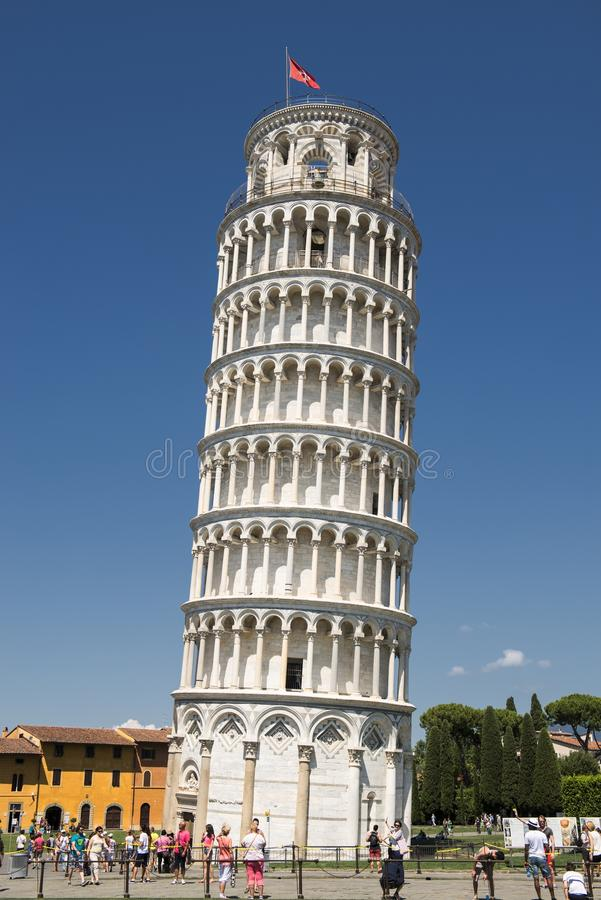 Free Leaning Tower Of Pisa. The Tower Of Pisa Royalty Free Stock Image - 84119766