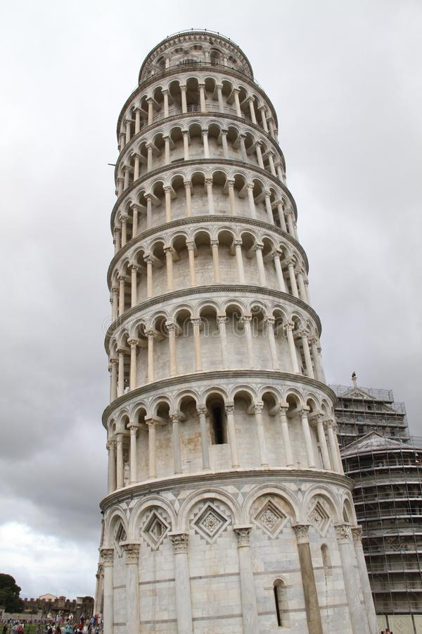 Leaning Tower of Piazza stock photos
