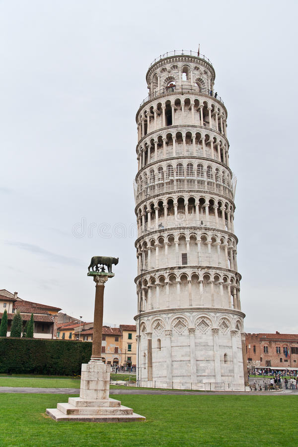 Download The Leaning Tower of Pisa stock photo. Image of pisa - 16310342