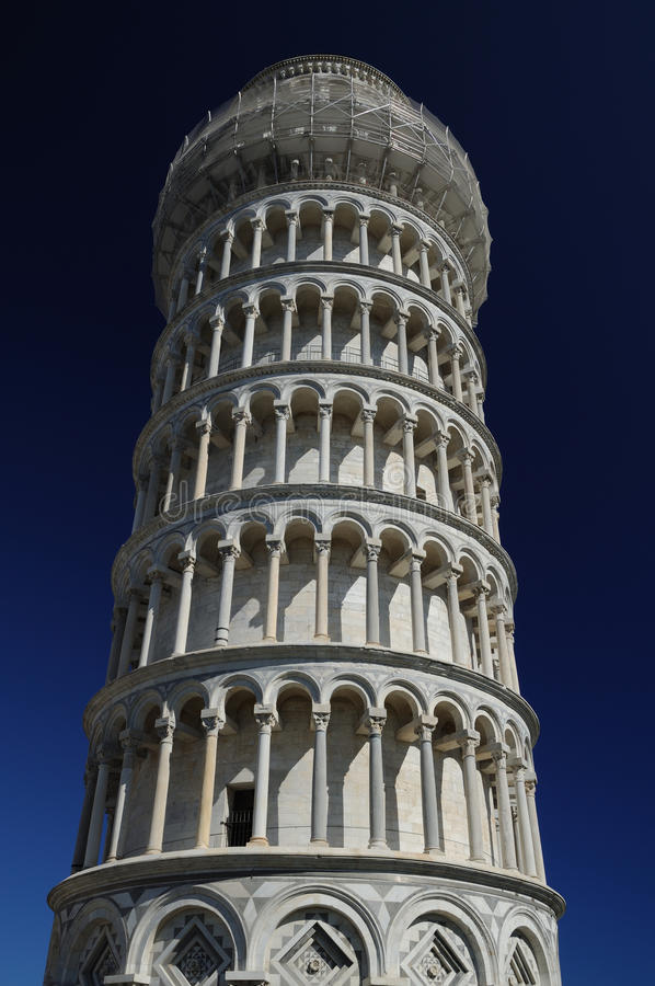 The leaning tower (Pisa) royalty free stock images
