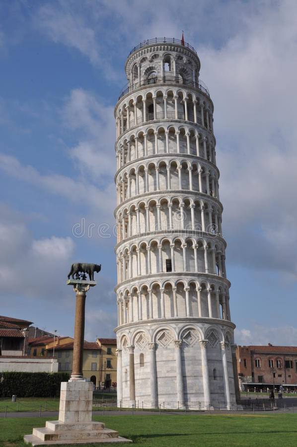 Leaning Tower of Pisa. Italy stock photo