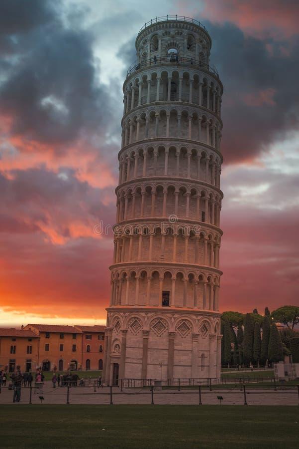Leaning Tower of Pisa stock fotografie