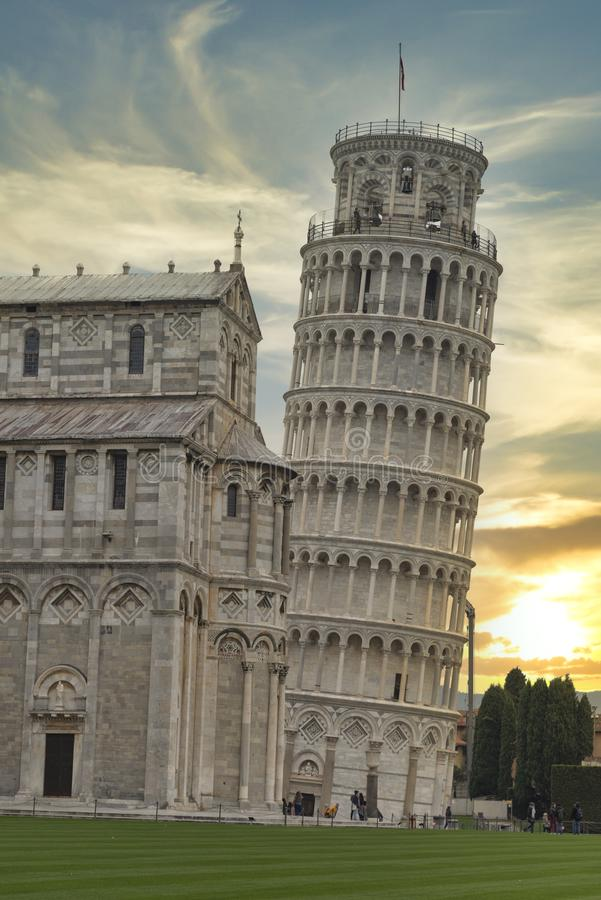 Leaning Tower of Pisa royalty-vrije stock foto