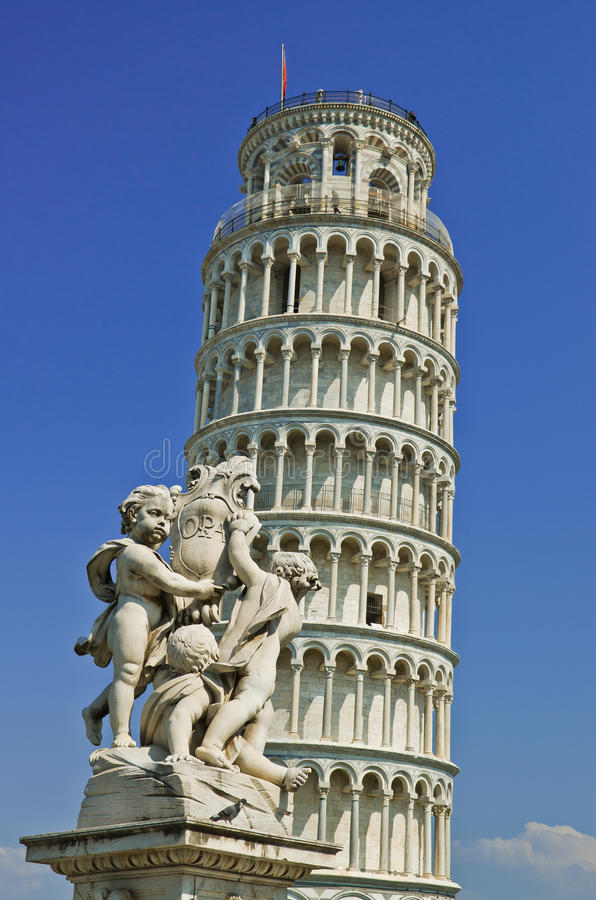Leaning tower of Pisa, Italy stock image