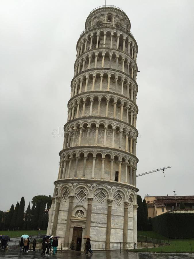 The Leaning Tower of Pisa royalty free stock photos