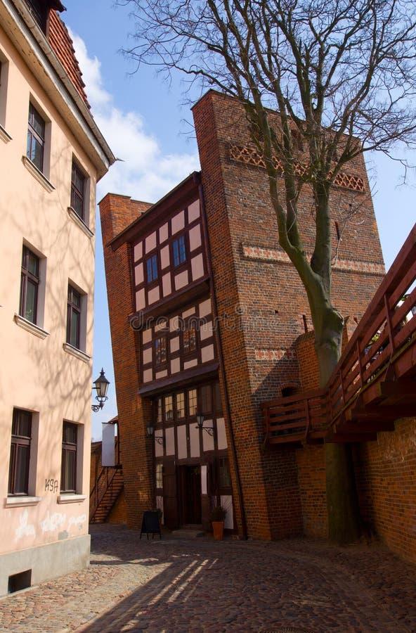 Download Leaning Tower, Torun, Poland Stock Image - Image of corner, landmark: 24353303