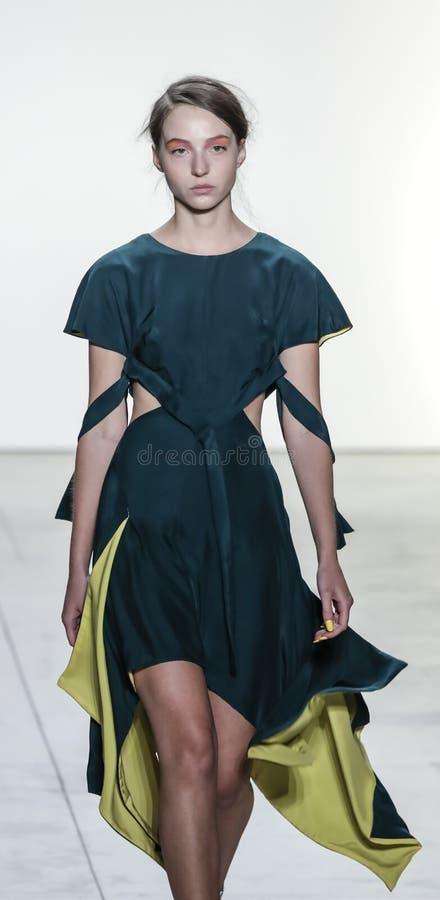 Leanne马歇尔春天/夏天2018年 库存图片