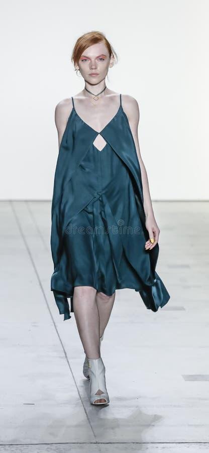Leanne Marshall Spring /Summer 2018 stock afbeeldingen