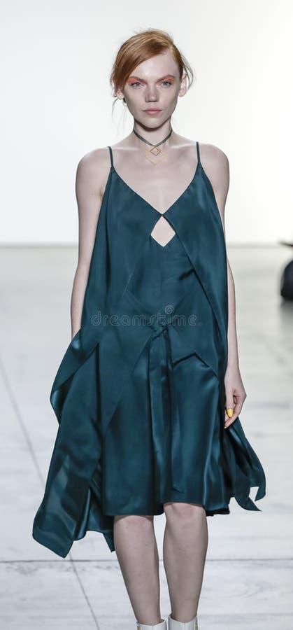 Leanne Marshall wiosna, lato 2018/ zdjęcie stock