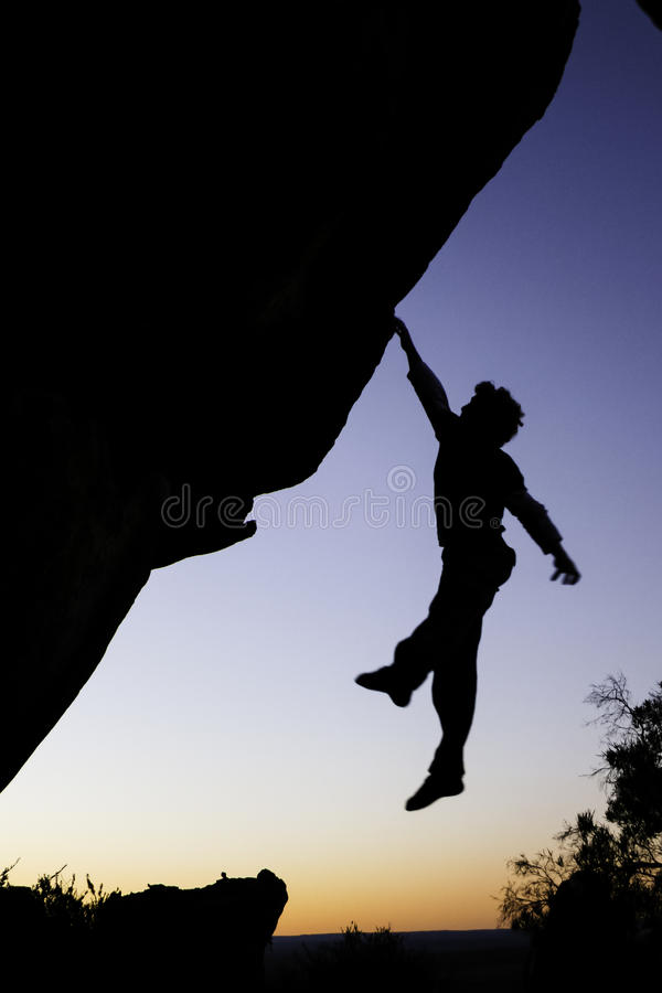 Leaping into the sunset royalty free stock images