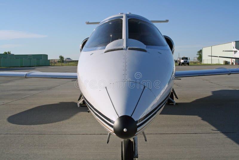 lear的喷气机 免版税库存图片