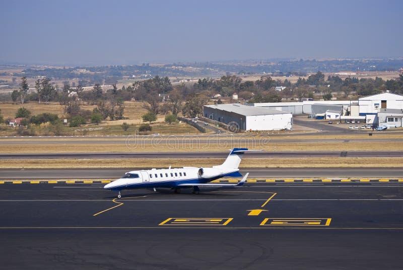 Learjet 45 - Jet di affari fotografie stock