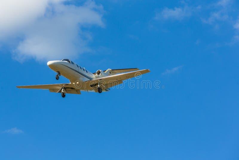 Learjet Stock Photo