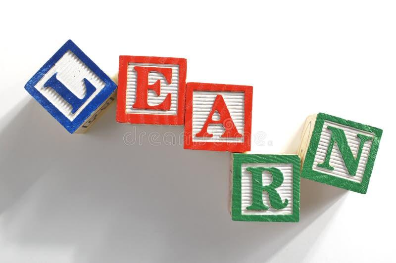 Download Learn blocks stock image. Image of wisdom, english, elementary - 26162251