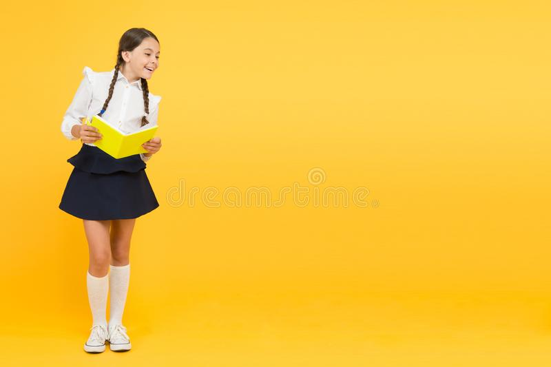 Learn following rules. Welcome back to school. School lesson. Study literature. Inspirational quotes motivate kids for. Academic year ahead. School girl formal stock image