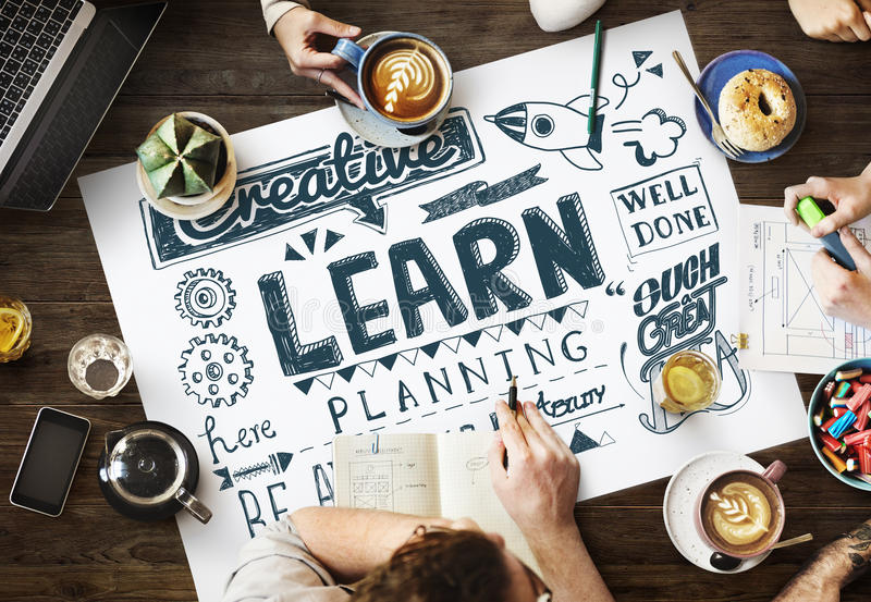 Learn Insight Education Knowledge Wisdom Ideas Concept royalty free stock photo