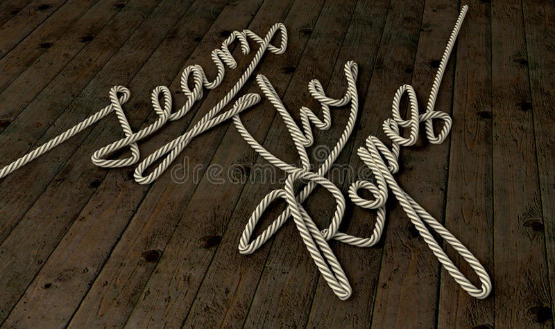 Download Learn The Ropes Rope stock photo. Image of master, show - 25947408